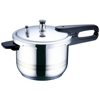 蘇泊爾(SUPOR) 304不銹鋼高壓鍋22cm復底壓力鍋5.2L電磁爐鍋具YS22ED
