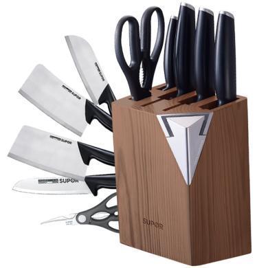 蘇泊爾supor 廚房刀具不銹鋼套裝 尖峰系列7件套刀.TK1522Q