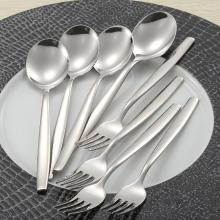 德国WMF福腾宝创意不锈钢叉子勺子家用西式餐叉餐勺餐具8件套装