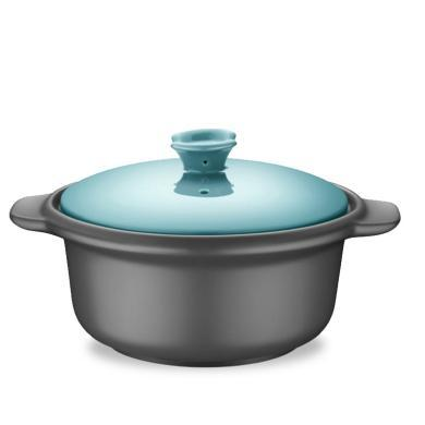 蘇泊爾(SUPOR)陶瓷煲湯鍋燉鍋小砂鍋新陶養生煲·怡悅系列·淺湯煲TB25C1