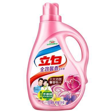 ¥立白全效馨香洗护合一洗衣液(3kg)