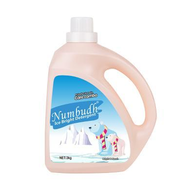 馬來西亞Numbudh南堡冰雪亮白洗衣液3kg