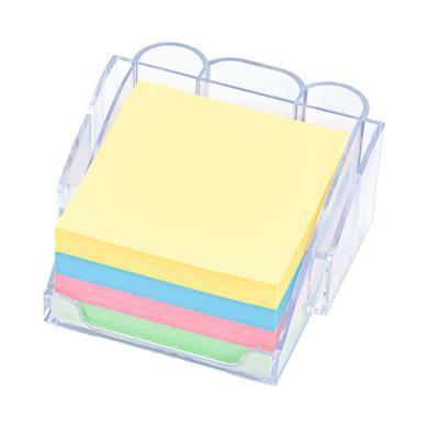 iscream上品匯盒裝多色便利貼多功能便簽座易撕粘性紙可重復使用
