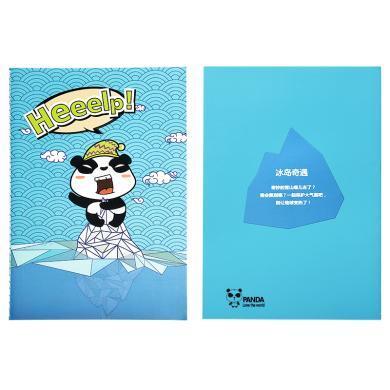 iscream上品匯A5卡通筆記本小學生日記本數學本錯題本涂鴉空白本