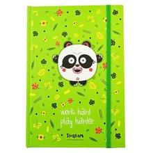 上品匯大自然主題可愛卡通A5綁帶筆記本厚小學生日記本