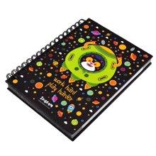 上品汇星际主题可爱卡通A6线圈本彩页小学生日记本笔记本