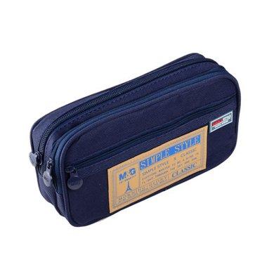 晨光(M&G)APB93598多功能多层大笔袋铅?#36866;?#32435;袋韩国简约风学生笔袋