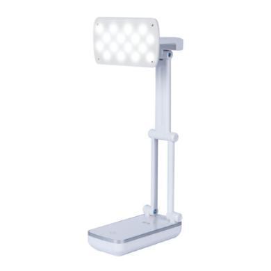 晨光文具學生LED充電式小臺燈旋轉折疊護眼書桌大學生宿舍寢室USB燈便攜式智能觸控開關AEA98532