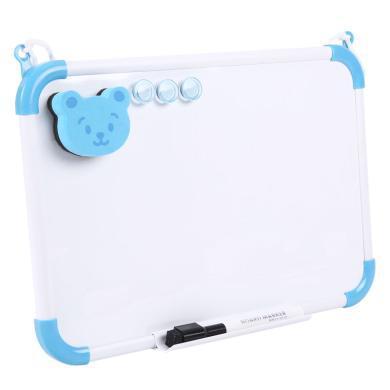 晨光兒童寫字板可擦白板家用教學小白板小黑板掛式磁性白班寫字板 ADB98339/98340大號