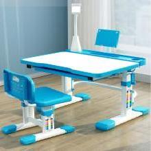兒童學習桌寫字桌椅家用書桌套裝小學生課桌椅簡約男孩女孩可升降桌椅