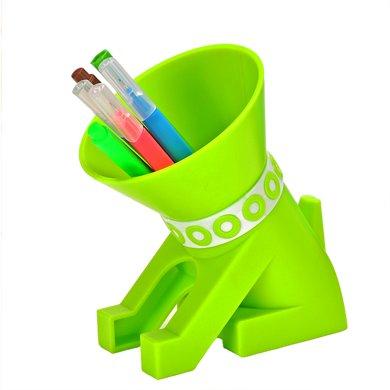 上品匯可愛狗狗筆筒韓版創意時尚辦公禮品筆筒 學生藝術塑料筆筒