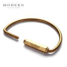 Modern黃銅鑰匙扣 創意男女汽車鑰匙扣 鑰匙圈大環 鑰匙扣大容量