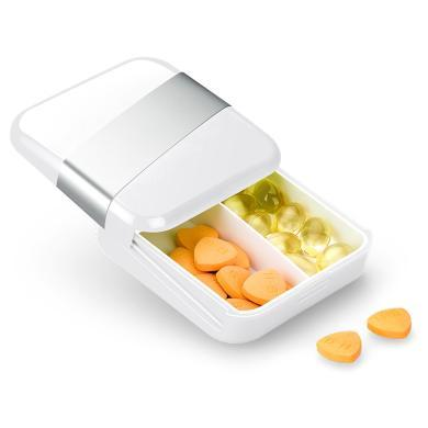 原创MOTUUNE迷你随身小药盒 创意分装药盒 时尚小收纳盒 可定制