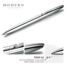 德国modern 中性笔商务金属笔杆水笔0.5签字笔学生宝珠笔刻字定制
