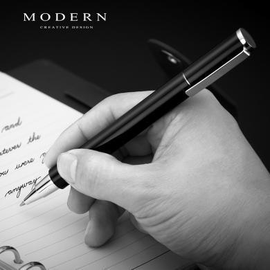 德國Modern中性筆商務 金屬筆桿水筆0.7 男高檔簽字筆金屬 可定制