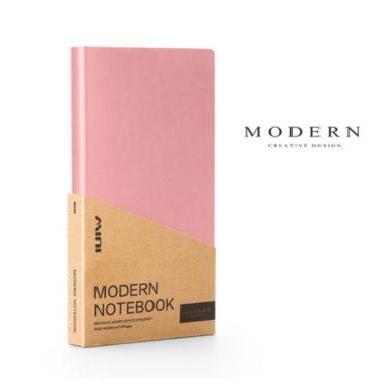 德國MODERN記事本筆記本 A6口袋型日程本記錄本 商務手帳本可定制
