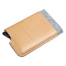 德國MODERN鋁合金防盜刷錢夾卡包防消磁金屬卡盒屏蔽NFC卡套RFID