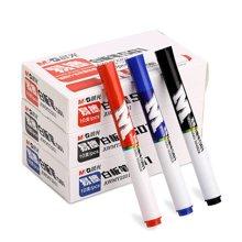 晨光白板笔白板专用笔红色蓝色黑色可擦办公文具用品批发AWMY2201