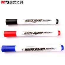 晨光文具 单头易擦白板笔展示板笔儿童水性涂鸦笔办公会议笔10支/盒AWMY2202