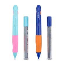 晨光文具活动铅笔学生学习用品优握系列组合卡装HAMP0688黑