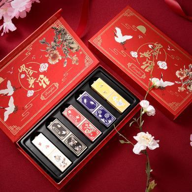 Focallure中國風口紅套裝持久保濕防水持久不脫色啞光故宮禮盒裝8208