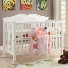 雅客集婴儿床挂袋大容量新生儿用品奶瓶尿布收纳袋FB-13148PI
