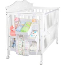 雅客集婴儿用品收纳挂袋FB-13148 尿布袋 宝宝床头储物袋整体袋