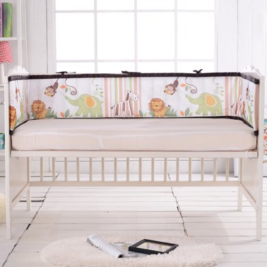 Marvelous kids 3D網眼布嬰幼兒床圍高彈絲防撞透氣可拆洗
