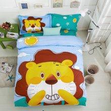 妈唯乐Marvelous kids卡通动漫儿童床三件套被套床单枕套高密度纯棉1米-1.5米床均可用