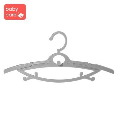 babycare嬰兒衣架 新生兒寶寶家用晾曬衣架小孩兒童伸縮小衣架4310