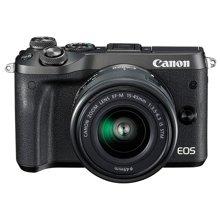 佳能(Canon)EOS M6(15-45mm)微型可换镜数码相机