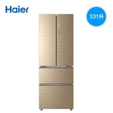 Haier/海爾冰箱BCD-331WDGQ 331升四門風冷無霜冷藏冷凍變頻多門家用電冰箱