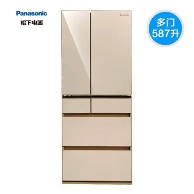 Panasonic/松下 NR-F610VG-N5多�T�冰箱587L原�b日本�M口��l