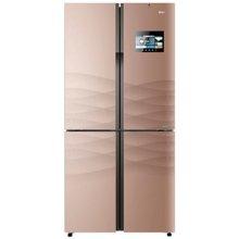 BCD-458WDIAU1 458升十字对开门冰箱智能变频四门家用电冰箱 香槟金