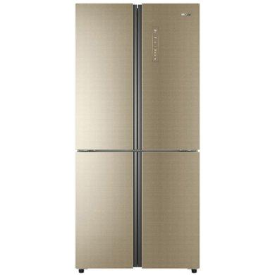 海尔(Haier) BCD-485WDCZ 485升变频风冷无霜多门冰箱干湿分储五区保鲜 香槟金