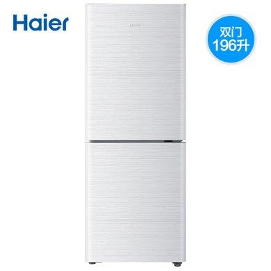海��(Haier)BCD-196TMPI 196升�砷T家用�o音�能�冰箱冷藏冷�� BCD-196TMPI