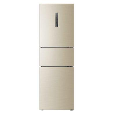 海尔(Haier) 冰箱BCD-258WDVLU1干湿分储宽频变温高配双变?#21040;?#33021;静音智能 静谧金 三开门