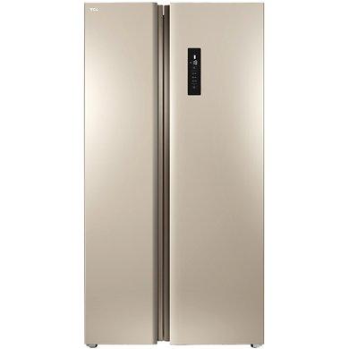 TCL 520升 双变?#20992;钥?#38376;冰箱 风冷无霜电脑温控(流光金)BCD-520WEPZA50