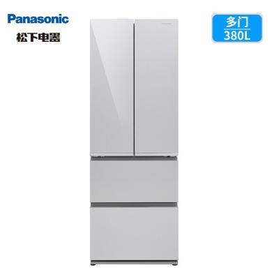 Panasonic/松下 NR-DE39TXP-S 380升家用風冷無霜變頻多門電冰箱