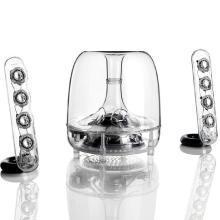 哈曼卡顿(Harman Kardon) SoundSticks III 水晶3代音响 电脑音箱 迷你低音炮小音响 有线版