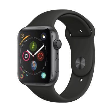 Apple Watch Series 4智能手表(GPS 44毫米 鋁金屬表殼 運動型表帶 )