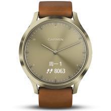 佳明(GARMIN)vivomove HR 活动监测光学心率运动健康智能通知指针隐藏式触摸屏智能手表 时尚版