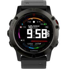 佳明(GARMIN)Fenix5X 飞耐时5X中文蓝宝石玻璃镜面DLC版 GPS多功能北斗三星定位地图导航登山跑步智能运动表游泳户外腕表光学心率