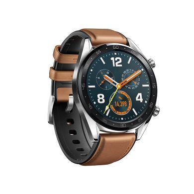 華為(HUAWEI) WATCH GT(兩周續航+戶外運動手表+實時心率+高清彩屏+睡眠壓力監測+智能提醒+NFC支付)