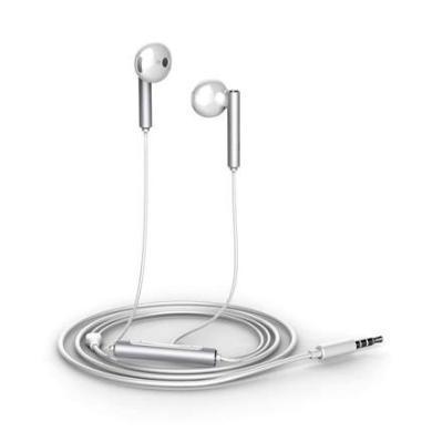 華為honor榮耀 AM116半入耳式耳機線控 耳機入耳式通用耳機