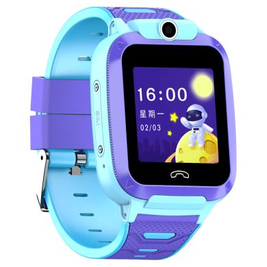 4G全網通兒童電話手表智能可視頻通話Wifi聯網GPS定位防水兒童手表觸屏移Q動聯通電信版男孩女孩中小學生 粉色【4G+視頻通話+GPS精準定位】