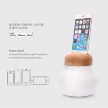 IDMIX 苹果MFI认证可以给iphone充电的移动电源蘑菇灯创意台灯5000mah