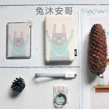 冇心原創文藝童沐森林移動電源 可愛創意充電寶禮物套裝8000毫安