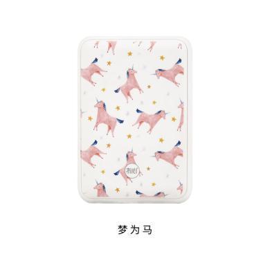冇心充電寶便攜超薄可愛卡通超萌少女蘋果8手機迷你小巧移動電源10000毫安大容量充電寶