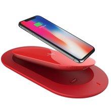 MIPOW苹果X双用无线充电器+移动电源充电宝5000mah 红色